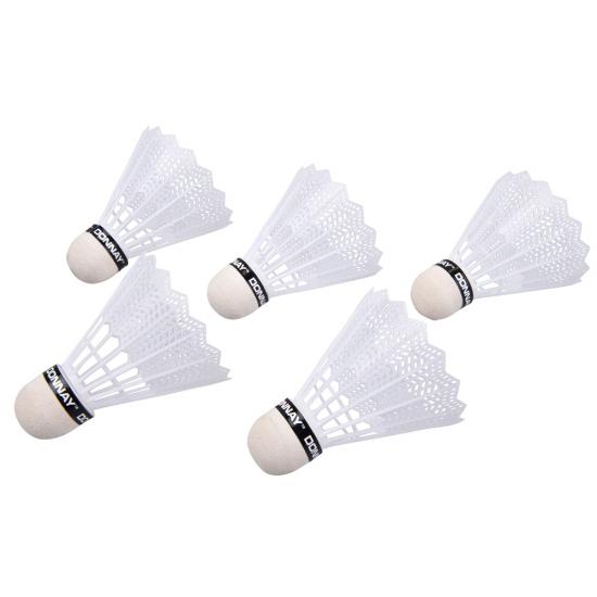 Witte badminton setje shuttles
