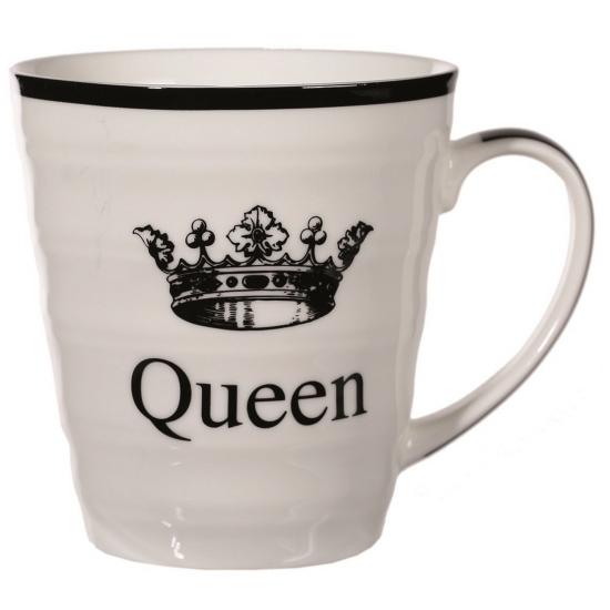 Witte mok Queen