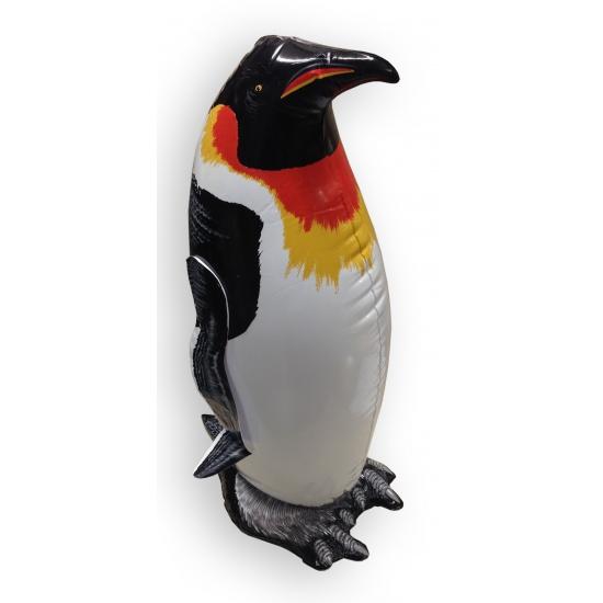 XXL opblaasbare zwarte pinguin 91 cm