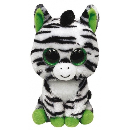 Zebra knuffel Zig Zag 15 cm