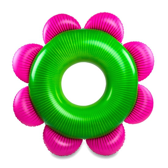 Zomerse bloem zwemband 153 cm