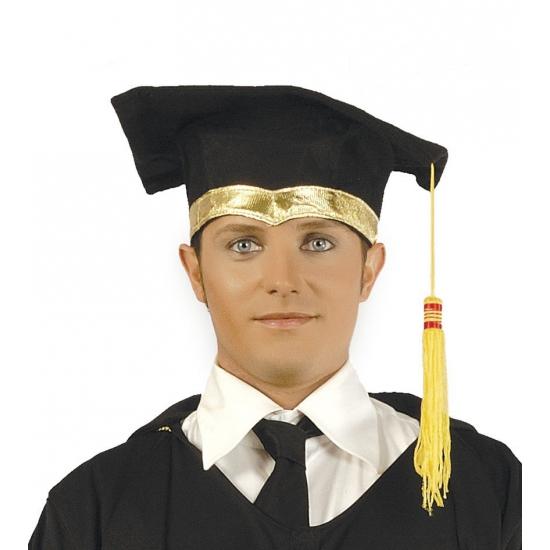 Zwarte diploma hoedjes