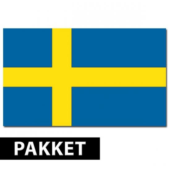 Zweden decoratie pakket