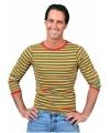 Carnavalskleding Dorus shirt voor heren