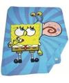 Fleece dekentje Spongebob blauw