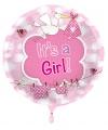 Kado ballon meisje geboren