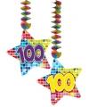 Hangdecoratie verjaardag 100 jaar