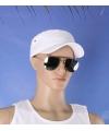 Luxe US Air Force zonnebril met zilveren glazen