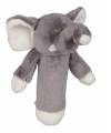 Grijze olifant rammelaar 16 cm