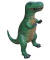Opblaasbare groene T-Rex 41 cm