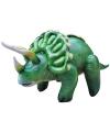 Opblaasbare groene Triceratops 109 cm