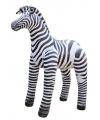 XXL opblaas zebra van 81 cm