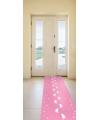 Roze loper voor babyshower meisje