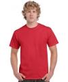 Rode t-shirts heren