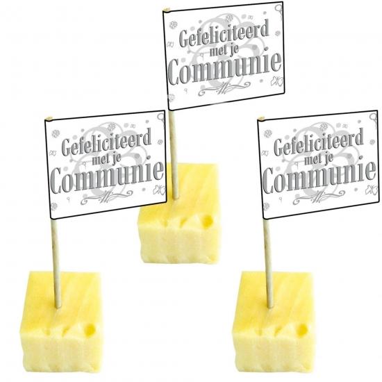 50 cocktailprikkers communie