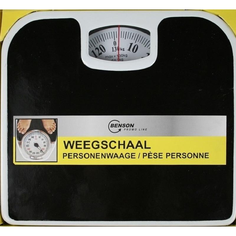 Analoge personenweegschaal tot 130 kg