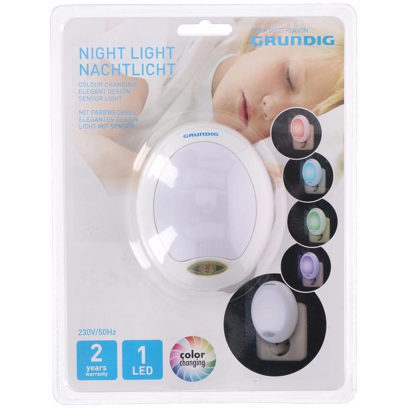 Automatisch nachtlampje LED kleur