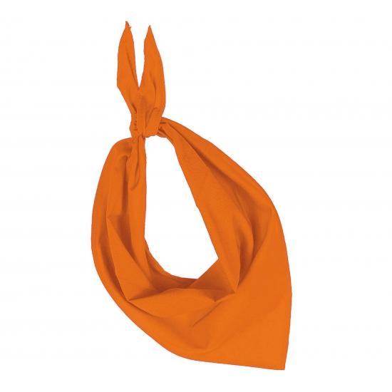 Bandana zakdoeken oranje