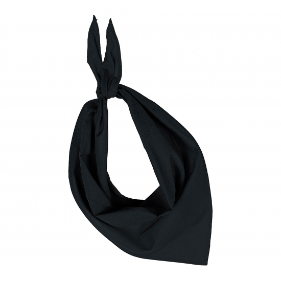 Bandana zakdoeken zwart