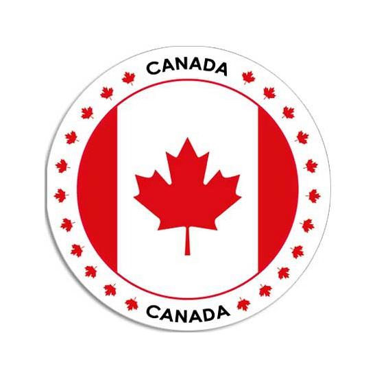 Canada stickers Shoppartners te koop