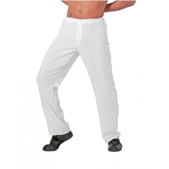 Carnavalskleding witte broek