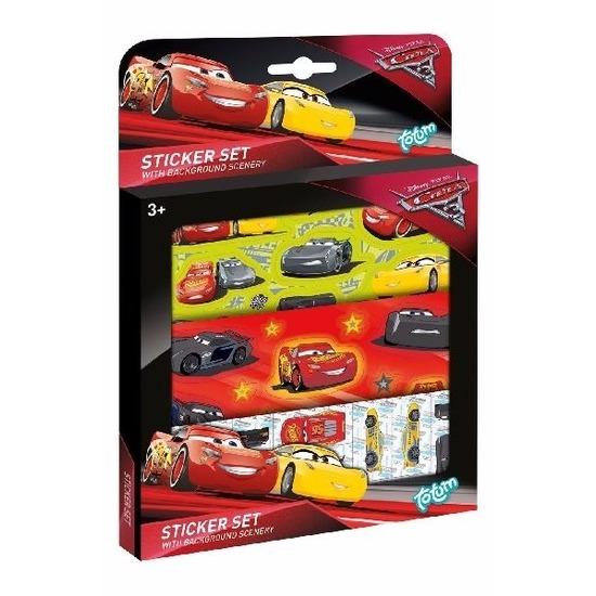 Schoolspullen Disney Cars 3 stickervellen