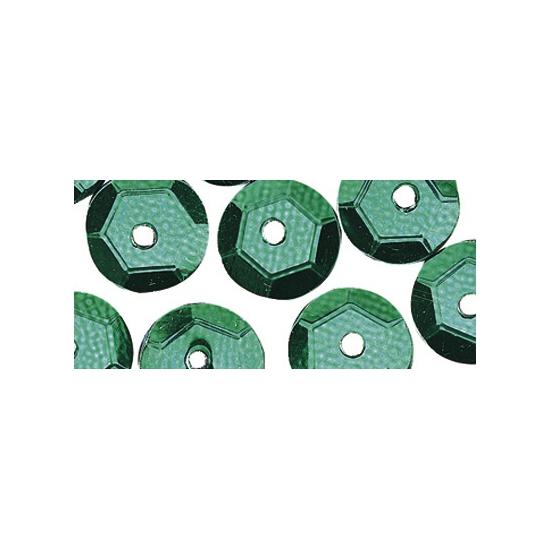Decoratie pailletjes groen 6 mm 500 stuks