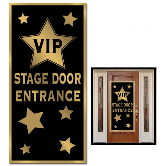 Deur decoratie VIP entrance
