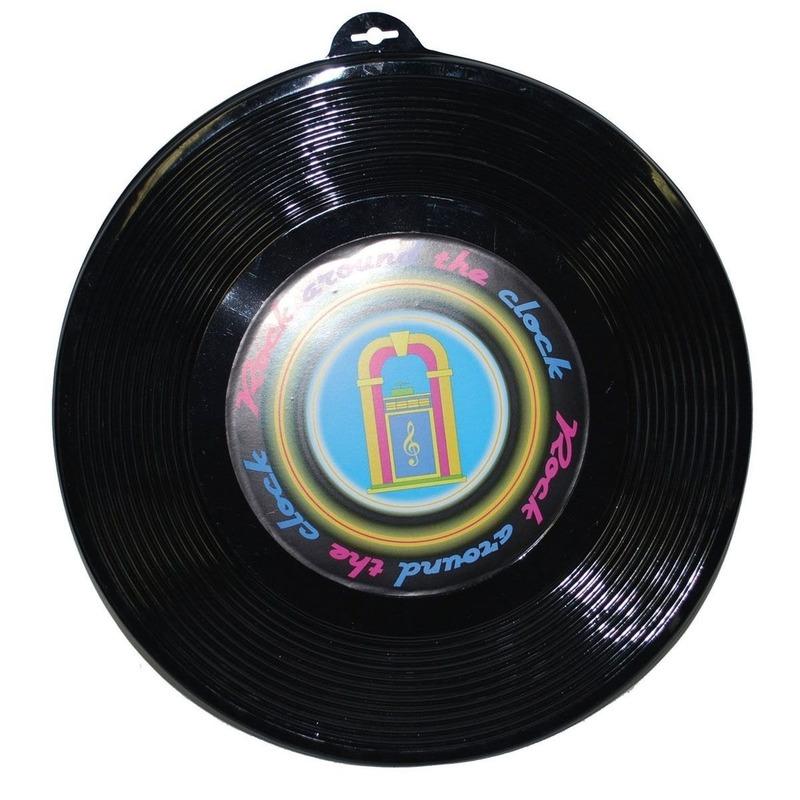 Disco wanddecoratie LP plaat