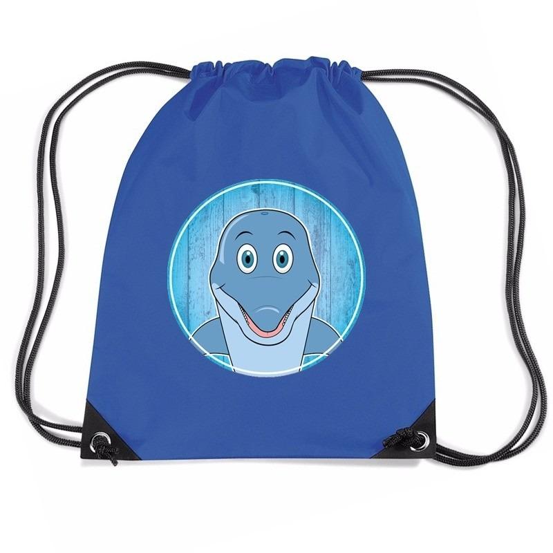 Dolfijnen rugtas / gymtas voor kinderen
