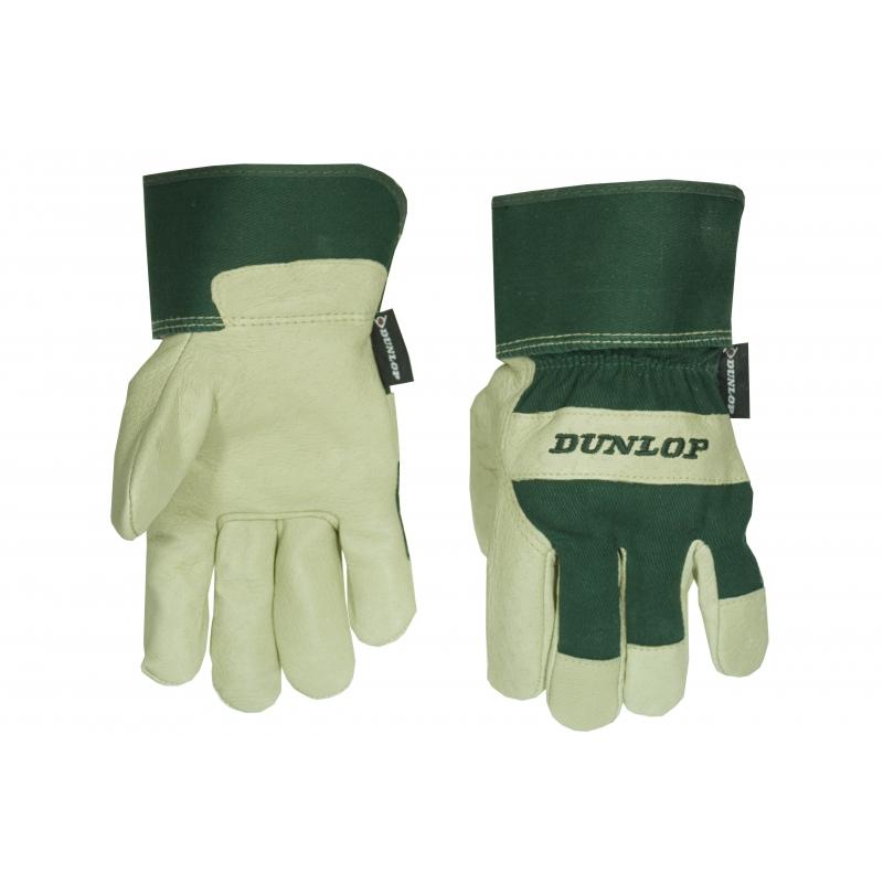 Dunlop werk-tuin handschoenen van varkensleder
