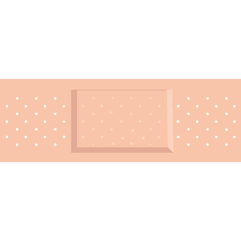 Feestartikelen diversen Feest mega pleister stickers 5 stuks