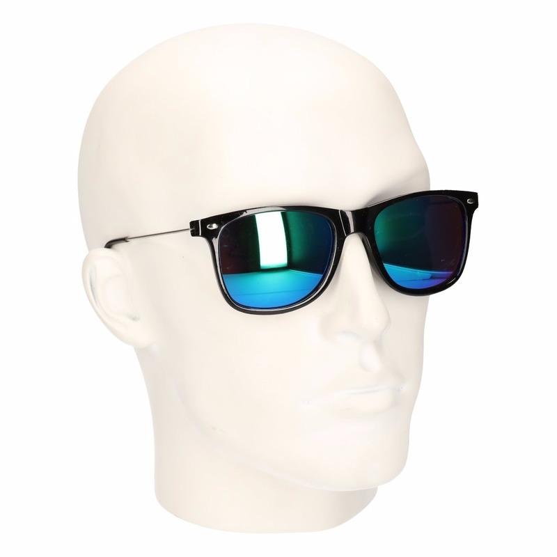 Festival zonnebril met spiegel glazen