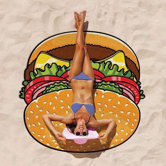 Grote hamburger roundie 150 cm
