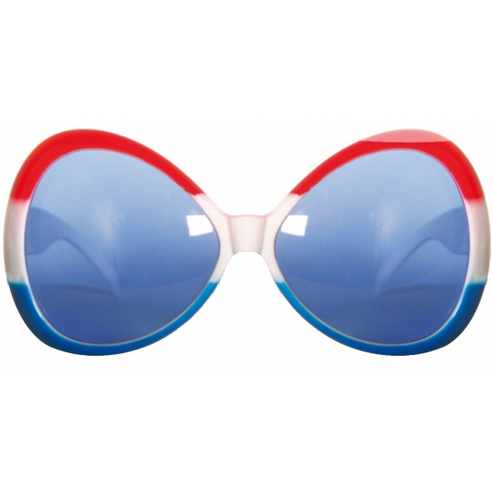 Hollandse kleuren party bril