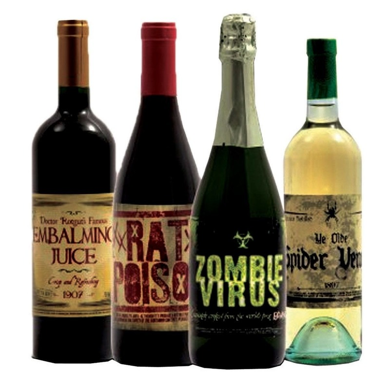 Geen Horror flessen etiketten Halloween feestartikelen
