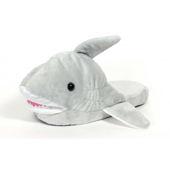 Instap pantoffels haai voor kinderen