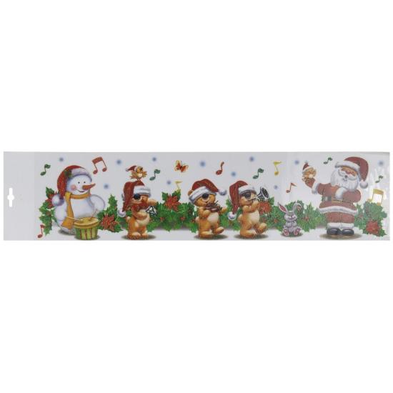 Kerst muziekband kerststicker