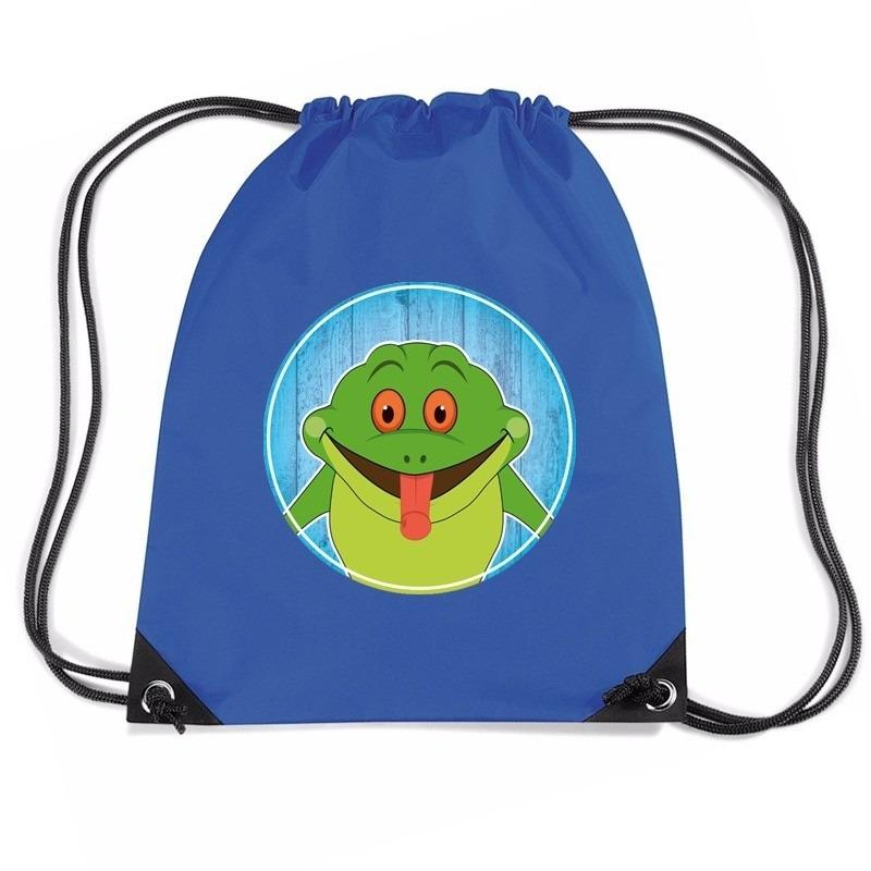 Kikkers rugtas / gymtas voor kinderen