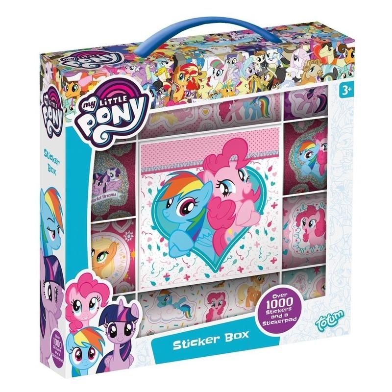 Creatief speelgoed My Little Pony Kinderspeelgoed my little pony 1000 st