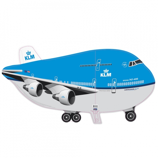 KLM vliegtuig folie ballon