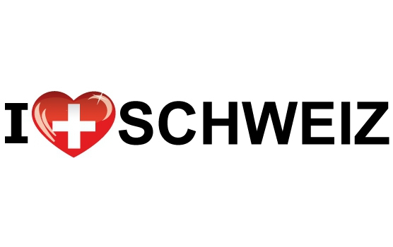 Koffer stickers I Love Schweiz Shoppartners laagste prijs