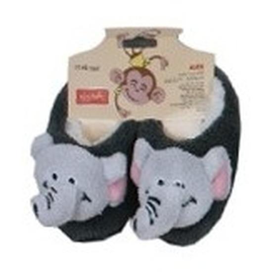 Kraamcadeau kinderslofjes/pantoffels olifant