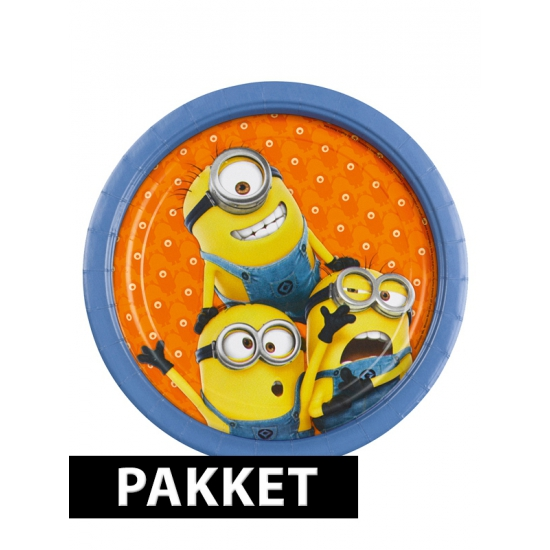 Minions kinderfeestje pakket
