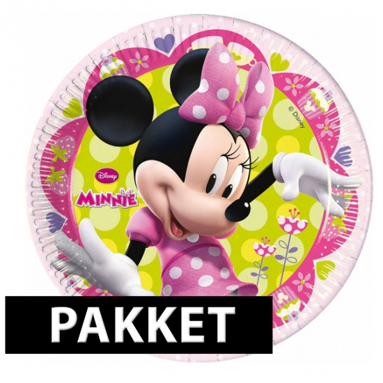 Minnie Mouse pakket voor kinderfeest