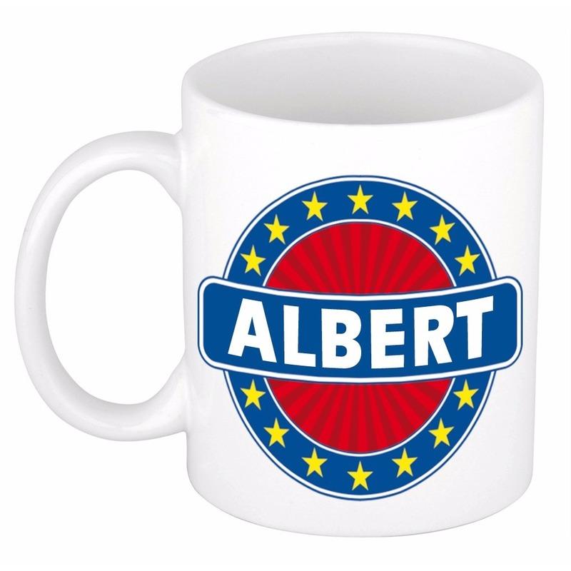 Naamartikelen Albert mok / beker keramiek 300 ml