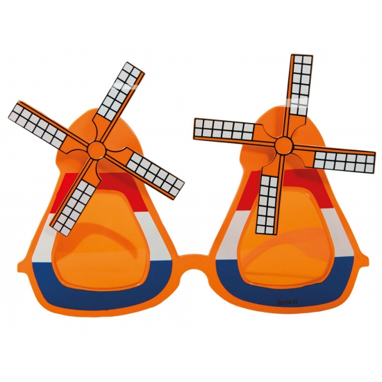 Oranje konniginedag molen bril