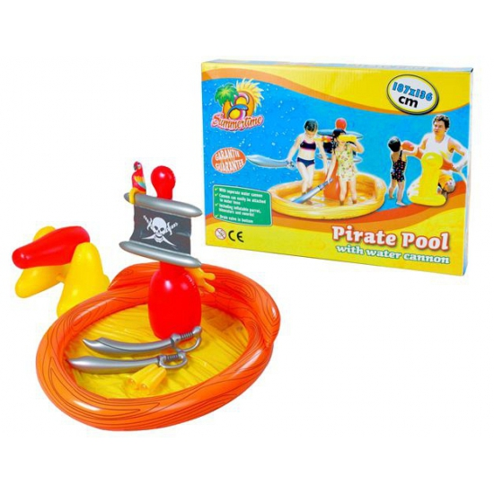 Piraten zwembad 187 x 136 cm
