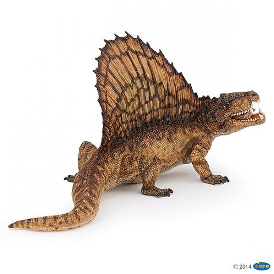 Plastic Papo dimetrodon dinosaurus 16 cm