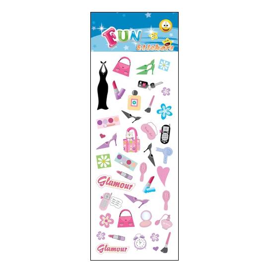 Schoolspullen Geen Poezie album stickers fashion